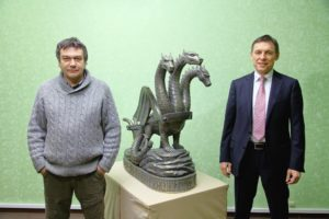 Владимир Михайлов и Александр Еремин Кострома