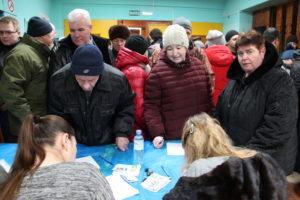 Регистрация на слушаниях по полигону в Кузьмищах