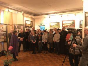 """Открытие выставки """"Папины письма"""" в Шарье"""