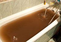 грязная вода