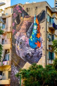 Граффити в Бейруте