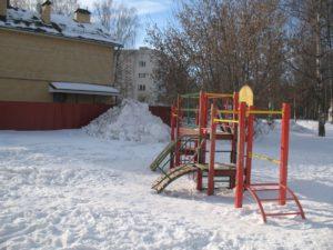 детская площадка кострома