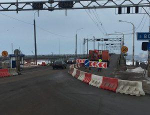 мост закрыт