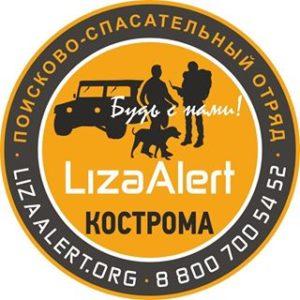 Лиза Алерт Кострома логотип