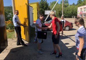 Александр Зыков выходит из спецприемника 1 августа 2018