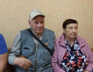 Иван и Зинаида Лавничие