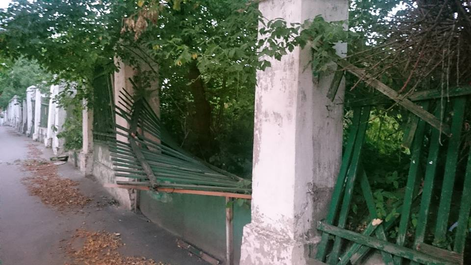 юннаты забор