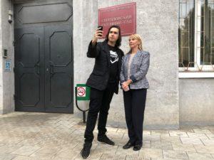 Руслан Стариковский и Светлана Стефанишина