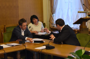 На заседании комиссии Думы города Костромы ноябрь 2018