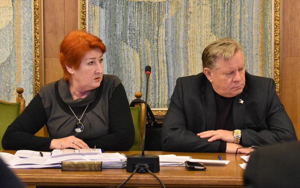 Александр Юшин и Валентина Ульянова в Думе города Костромы 2018