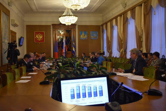 Голосование в Думе города Костромы