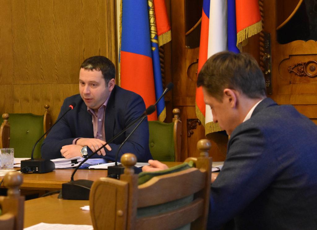 Илья Невский в Думе города Костромы 2018