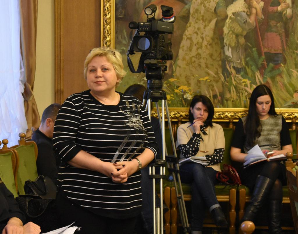 Общественница из Заволжья выступает в Думе города Костромы 2018
