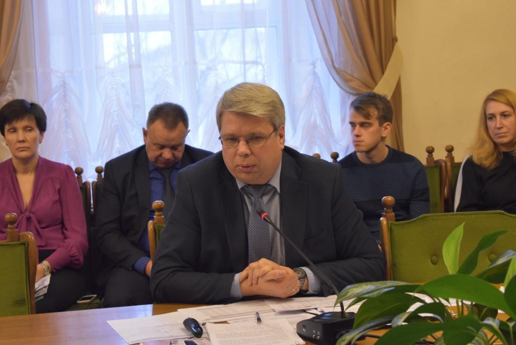 Смирнов Илья Вячеславович в Думе города Костромы 2018