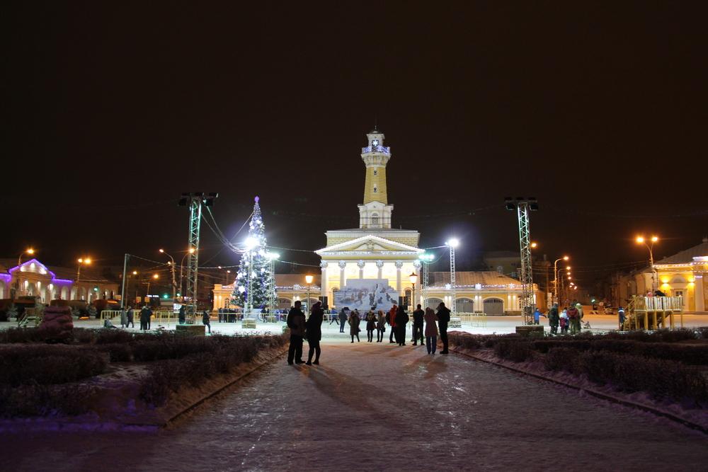 каланча кострома новогодняя