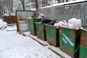 мусорные баки кострома