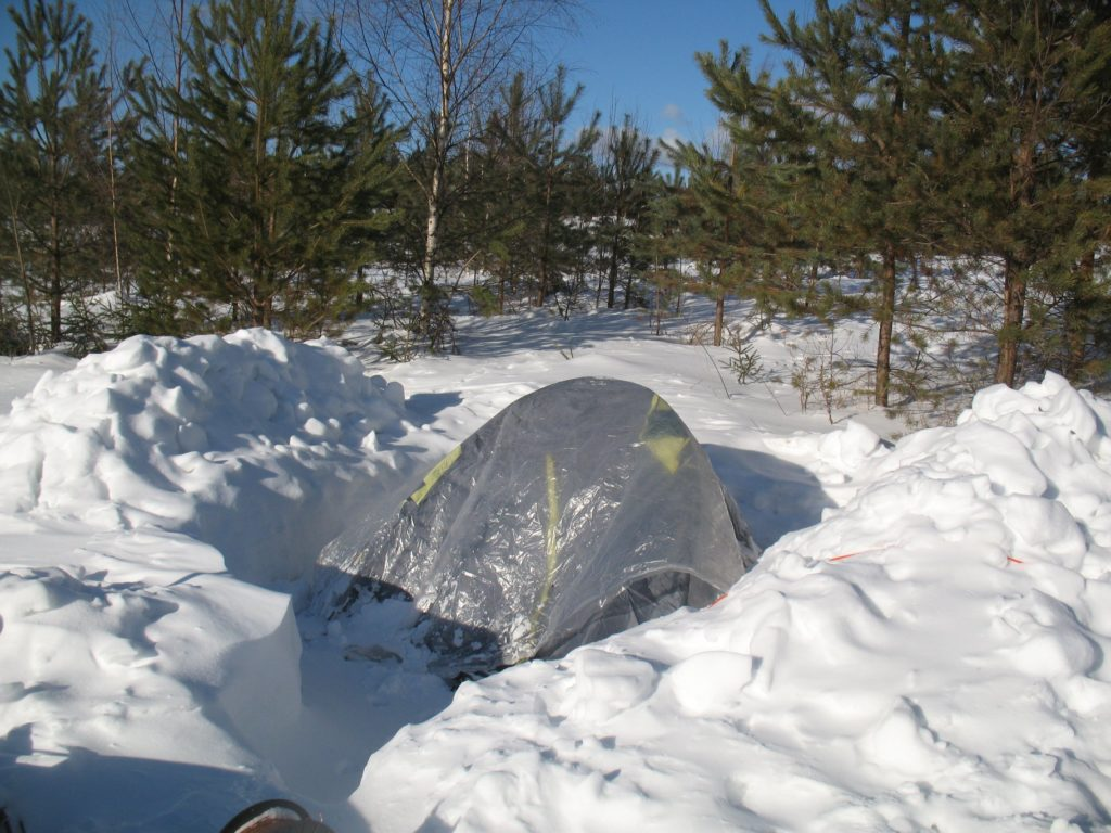 родники палатка