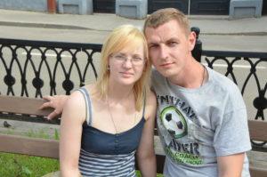 Седьмой лепесток Дмитрий Денисенко и Вера Сальникова Фото Николая Суворова