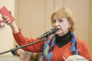 Ирина Назарова на слушаниях по генплану Костромы 2019