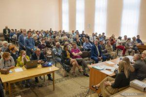 В зале слушаний по генплану Костромы 2019
