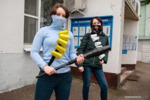 Костромские полицейские приняли фотосессию за массовый пикет