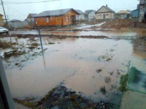 В Костроме затопило новый микрорайон