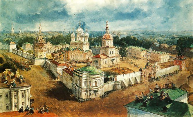 Богоявленский монастырь в Костроме