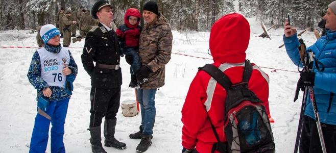 Фото детей с эсэсовцем под Костромой