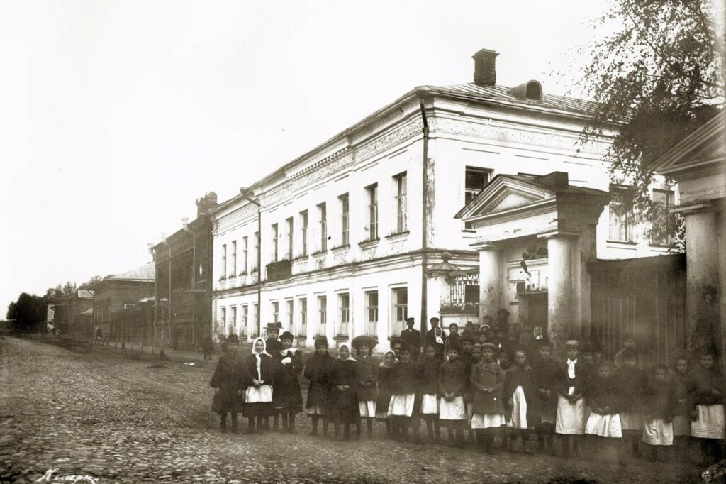 Мариинский детский приют в Костроме