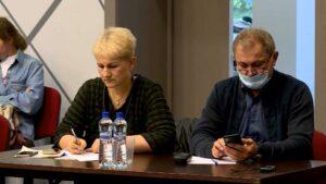 Светлана Шанина и Александр Лазутин на круглом столе в Костроме 23 09 2020 Фото ГТРК