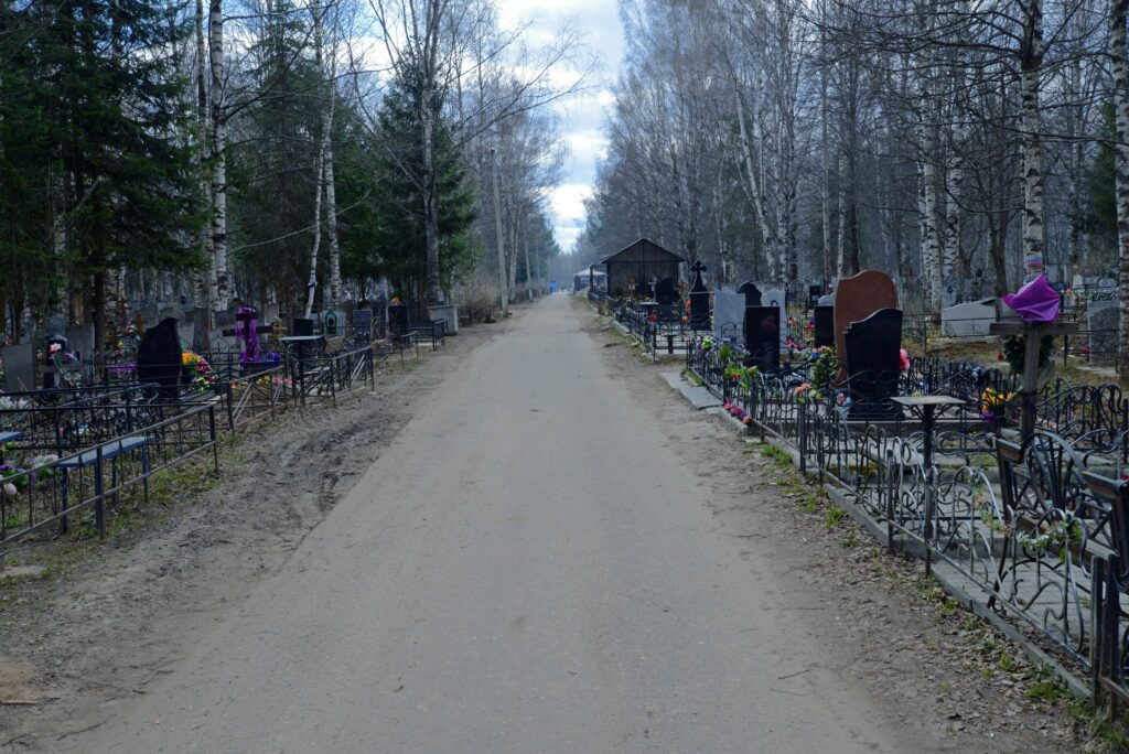Кладбище в Костроме