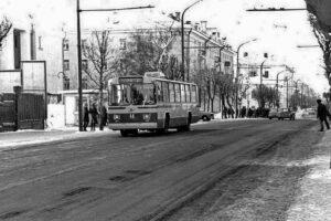 Троллейбус в Костроме