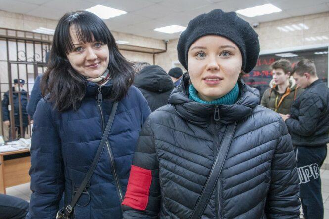 Юлия Мусина и Ирина Шумилова
