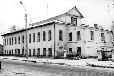 Здание Мариинского приюта в Костроме
