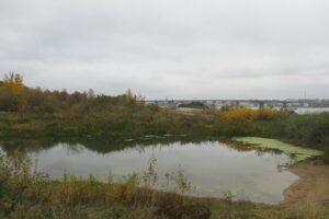 На правом берегу Волги в Костроме Заволжье