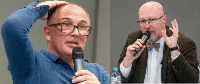 Константин Калачев и Валерий Соловей в Костроме