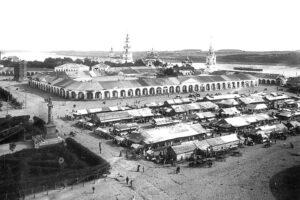 Кострома Сусанинская площадь Торговые ряды