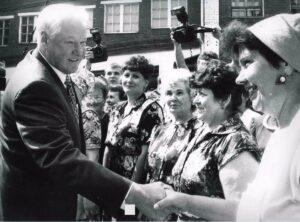 Борис Ельцин в Костроме
