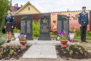 Памятник жителям Пантусово в Костроме