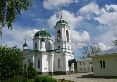 Храм преподобного Серафима Саровского в Костроме